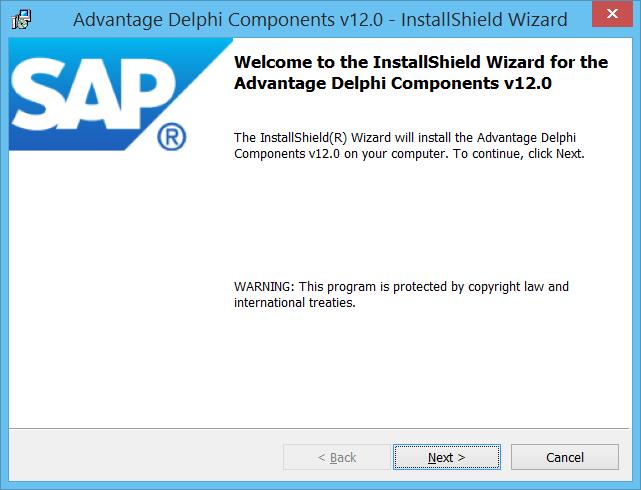 ADS12Delphi installer