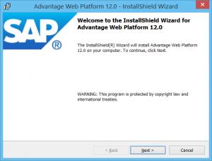 Web Platform Install Wizard